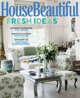 House Beautiful Magazine April 2014 Issue Get Your
