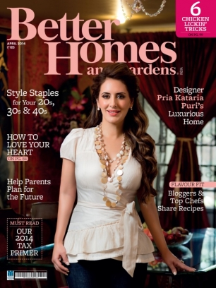 Better Homes Gardens India Magazine April 2014 Issue