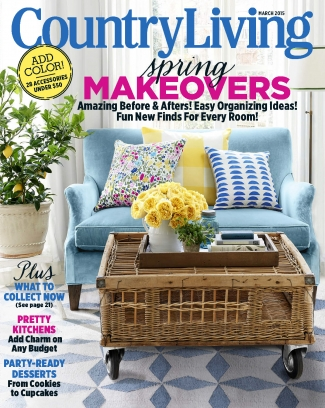 Country Living Magazine March 2015 Issue Get Your