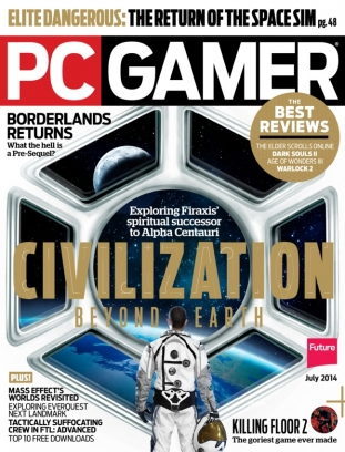 Pc Gamer Us Edition Magazine July 2014 Issue Get Your