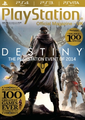 official playstation magazine september 2014 issue get your