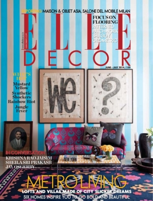 Elle Decor India Magazine June July 2014 Issue Get