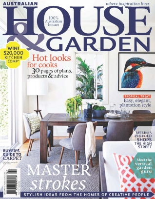 Australian House amp Garden Magazine March 2015 issue Get your