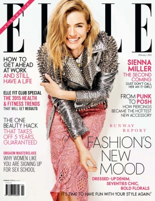 Elle australia magazine february 2015 issue get your for Elle magazine this month